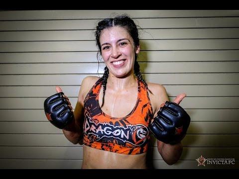 Invicta FC 9: Kelly McGill Post Fight Interview