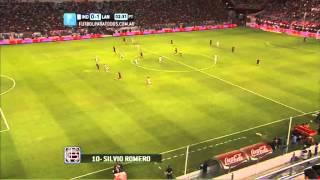 Gol de Romero. Independiente 0 - Lanús 1. Fecha 16. Torneo Primera División 2014. FPT