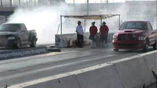 Ford Lightning(s) vs Ram Srt10 1/4 Mile Racing