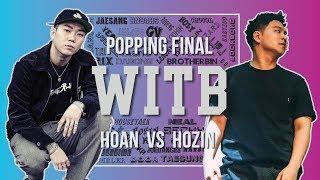 HOAN vs HOZIN Popping Final @ WITB 2019 LB-PIX