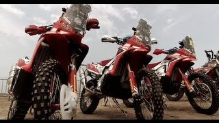 Team HRC - Dakar 2013, SS1