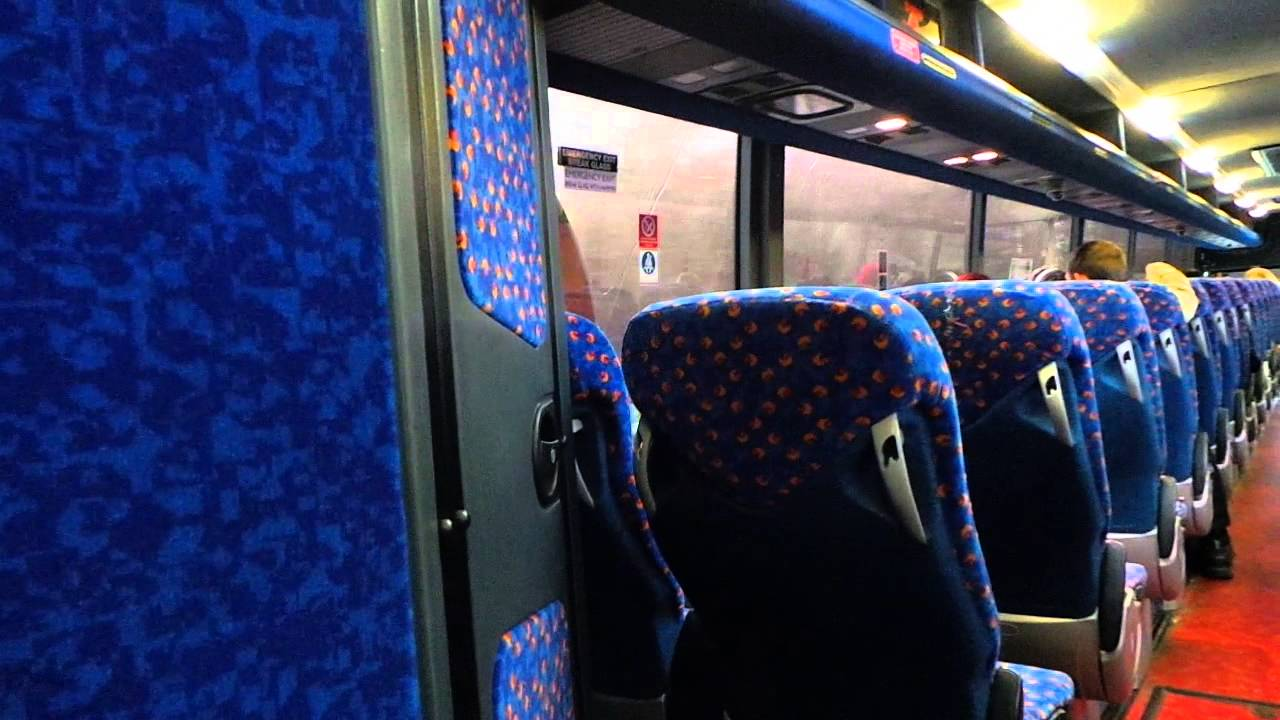 Route X74 Stagecoach Western Volvo B12B Plaxton Panther 54079 (SF59 FYY) - YouTube