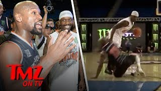Floyd Mayweather Praises The Guy Who Dropped Him To The Ground | TMZ TV