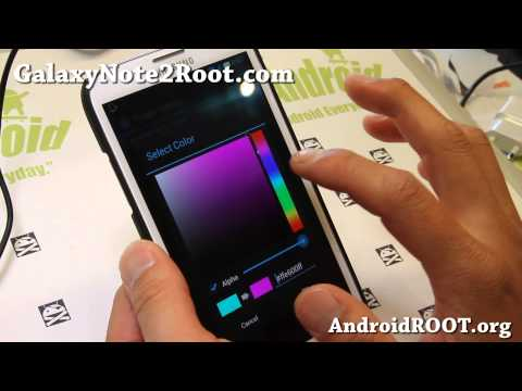 Alliance ROM for Rooted Galaxy Note 2 GT-N7100!