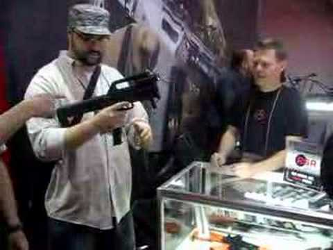Magpul FMG 9mm folding machine gun