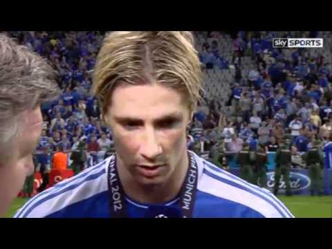 Fernando Torres Interview after Champions League Final