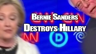 Bernie Sanders destroys Hillary Clinton in primary debate on Vermont gun control