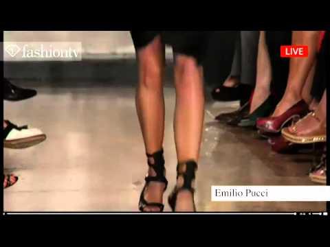 Emilio Pucci Spring/Summer 2014 | Milan Fashion Week MFW | FashionTV