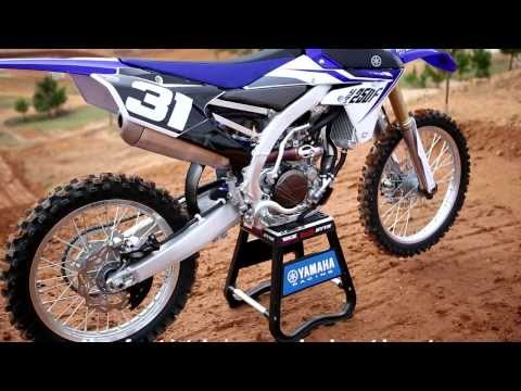 Testing The All New 2014 Yamaha Yz250f -motocross Action Magazine video