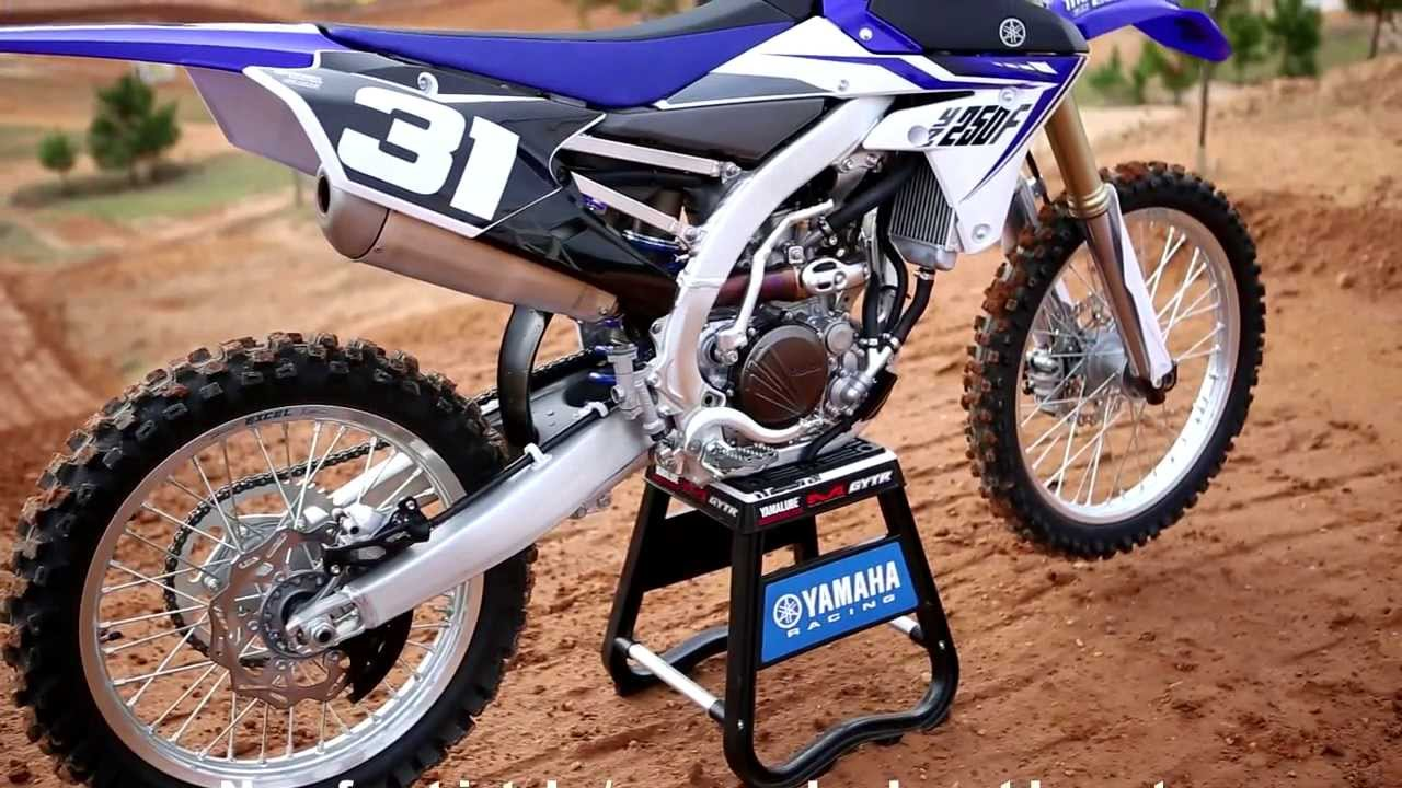 Testing The All New 2014 Yamaha YZ250F Motocross Action