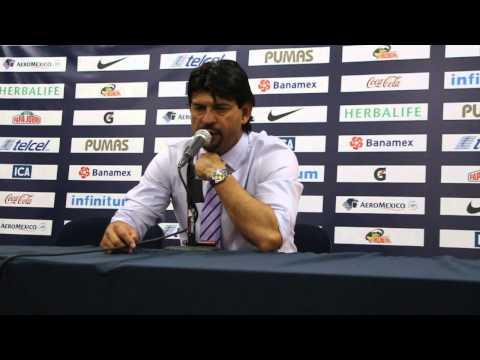 Conferencia de Prensa Pumas vs Toluca, Clausura 2015