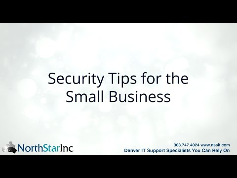IT Security tips for the small business - Denver IT Support