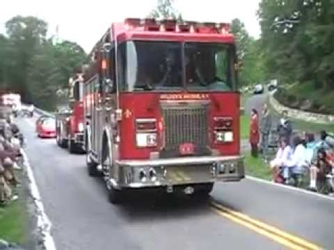 Golden's Bridge Fire Dept 100th Anniversary Parade Video