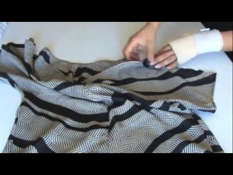 Como Hacer Una Blusa  Para El Dia De Las Madres   How to Make a Blouse Easily