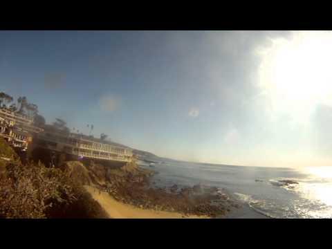 Beautiful View of Fisherman's Cove in Laguna Beach, CA