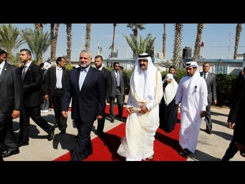 Qatar leader in key visit to Gaza