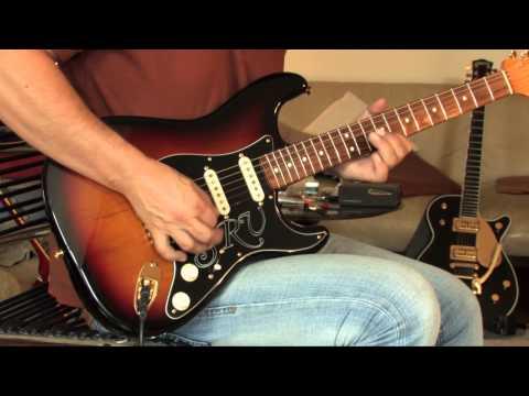 recent Fender SRV Signature Stratocaster