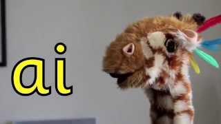 Geraldine the Giraffe learns /ai/