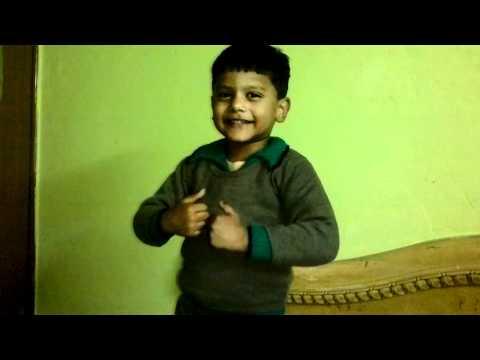 Utsav Anand, 5, Pach Kabutar, children hindi poem , maths learning songs, HD