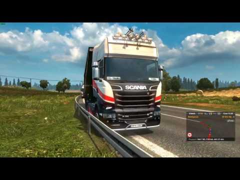 Euro Truck Simulator 2 Konwój Firmowy #4 3/6 Mordercza Czkawka W/PrezesGaming