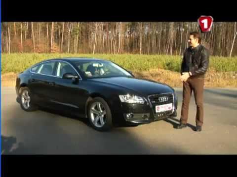 Тест-драйв Audi A5 sportback часть 1