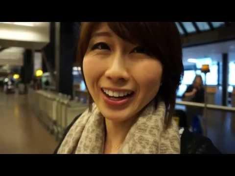 バイリンガール英会話【#183】空港からレッスン!baggage Claim & 入国審査 video