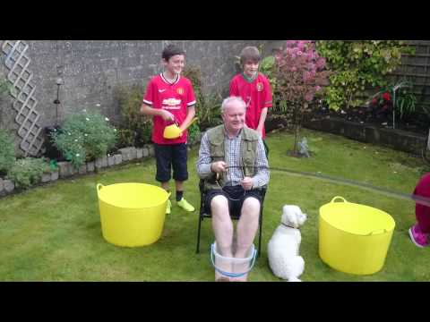 Martin McGuinness ice bucket challenge accepted