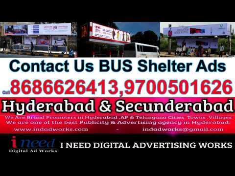 Bus Stop Shelters Advertising in Hyderabad & Secunderabad