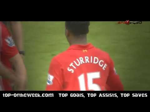 Daniel Sturridge vs Fulham 12-13 by andreys0
