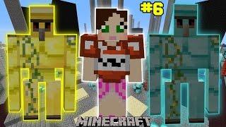 Minecraft - City - GOLEM ARMY CHALLENGE [6]