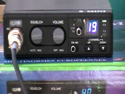 CRT S-Mini 80 Channel UK & EU AM/FM CB Radio