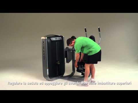 Matrix Fitness Italia: ULTRA Abdominal Crunch Italian