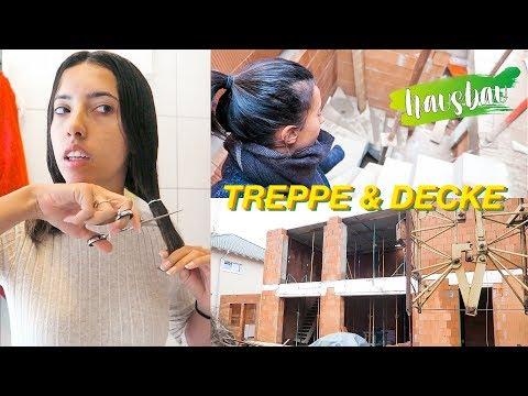 Haare schneiden, Treppe ist da & Delfinaufnahmen| Hausbau Vlog #195