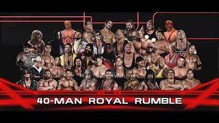 WWE 2K14 | 40 Man Retro/Legend Royal Rumble