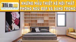 Phòng ngủ người lớn sắc màu nổi bật - Nhà Bếp Xinh