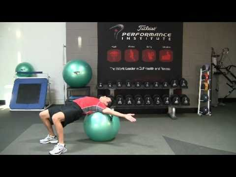Golf Fitness Core Stability Exercise