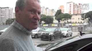 Zamparini e Iachini si incontrano allo stadio. No comment all