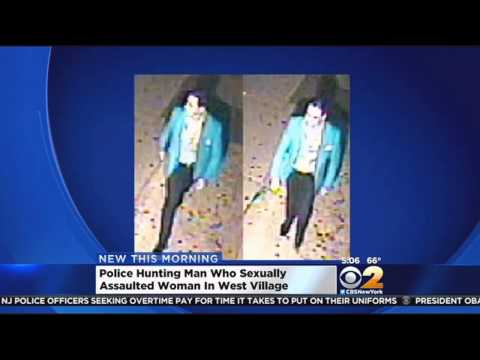 Police Searching For Suspect In West Village Sex Assault video