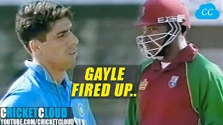Chris Gayle Fired up on Ashish Nehra | Want to Smash Every Ball !!