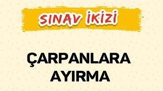 ÇARPANLARA AYIRMA - Yeni Nesil Sorular - ŞENOL HOCA