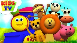 Learn Animals | Bob The Train | Preschool Learning Videos And Songs For Toddlers by Kids Tv