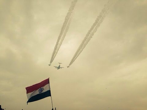 Indian Republic Day 2013- Flypasts