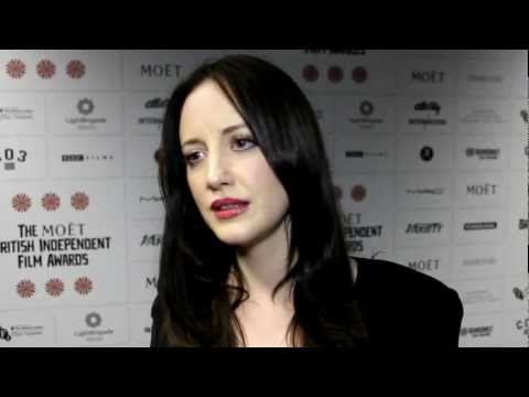 Andrea Riseborough Interview - The British Independent Film Awards 2012