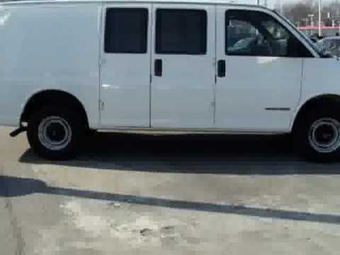 Don't miss this 2002 GMC Savana Cargo Van.It's equipped with Automatic