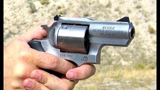 Shooting The Ruger Alaskan .480 Super Redhawk * One Mean SOB