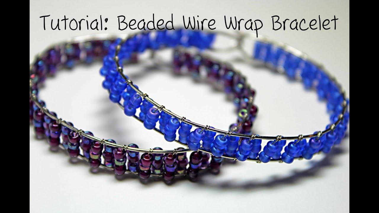 beaded wrap bracelet instructions