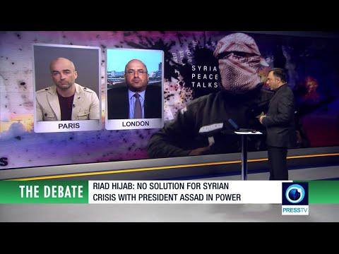 Gearóid Ó Colmáin on 'The Debate' discussing the Syrian peace talks.