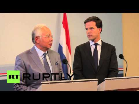 Netherlands: Malaysian and Dutch PMs pledge to bring MH17 victims home