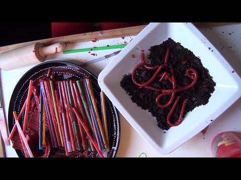 LaiaLand - Gusanos de Gelatina [Receta de Cocina para niños]