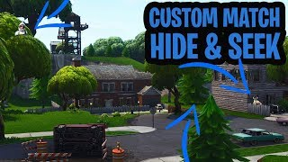 HIDE & SEEK MINI-GAME met 14 MENSEN!  - Fortnite: Battle Royale Custom Game (Nederlands)